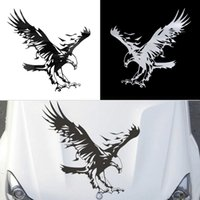 Wholesale Eagle Pattern Vinyl Reflective Material Car Stickers Car Engine Hood Decal Emblem car sticker car styling