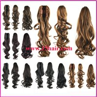 Cheap Fashion Dual-purpose Grip Wig Wholesale Selling High-quality Horsetail Horsetail