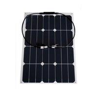 оптовых гибкие солнечные панели '-30w гибкий выход панели солнечных батарей завод цена 30W всплеск ранга монокристаллический солнечных батарей