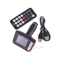Wholesale 1 quot LCD Wireless Car MP4 MP3 Player FM Transmitter SD MMC USB Black