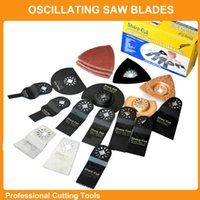 saw blades - 40 set Oscillating Tool Saw Blades Accessories kits fit for Multimaster power tools as Fein Dremel etc