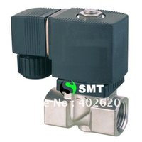 Wholesale 2pcs quot stainless Steel solneoid valve and solenoid valve pc