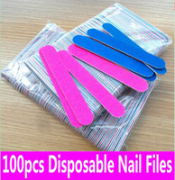 zt-180 - nail file emery board Thin Grey sandpaper emery file for nail art lime a ongle ZT