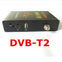 Cheap Car Digital Tv Tuner DVB-T2 Receiver MPEG-2 MPEG-4 M-588X 4 Video Output 2 Audio Output Digital TV Receiver Box