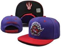 hat boxes - Raptors Basketball Snapback Sport Hats Caps Adjustable Snap back Sport Hat Cap With Box Colors