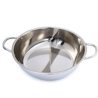 Wholesale High Quality Stainless Steel Set Little Sheep Thick Hot Pot Ruled cm Sizes Kitchen Hotpot Cookware