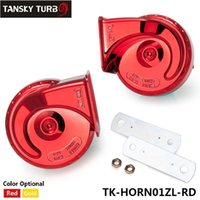auto subwoofers - TANSKY Horn Auto Air New Arrival Snail Waterproof Car Horn Whistle Horn V High Electric Bass Trumpet TK HORN01ZL