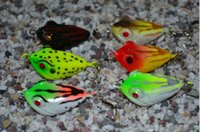 Wholesale Hard forg bait Topwater Pesca fishing lure mm g plastic frog lures Fishing tackle