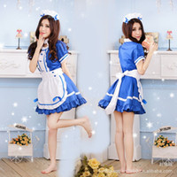 Wholesale cosplay role playing game uniforms temptation waiter maid maid costumes behalf of the consignor