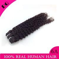 vendors - Natural Black quot quot Kinky Curly Virgin Hair Vendors Top Quality Grade A Brazilian Peruvian Malaysian Indian Human Hair Weave