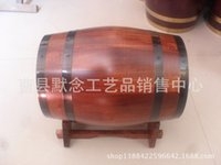 Wholesale Decorative wooden wine barrels oak barrels red wine barrel cask grade gifts