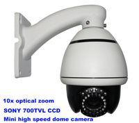 high speed camera - 1 Sony tvl Mini high Speed Dome Camera PTZ camera with m IR Distance X optical Zoom camera CP R