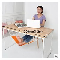 Wholesale FUUT Canvas Foot Rest Desk Hammock Mini Office Foot Rest Stand Desk Feet Hammock The Foot Hammock Comfortable for Your Foot m921