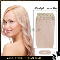 24 inch clip in human hair extensions - Natural Hair Clip Extensions quot Clip In Hair Extensions Light Blonde Natural Human Hair Clip In Virgin Remy Hair Extentions