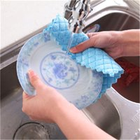 Wholesale Kitchen cloths Absorbent kitchen cleaning cloth Lint free cloth Not contaminated with oil washing cloth Superfine CM15gH