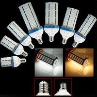 Wholesale 5pcs W E40 led high bay light SMD3528 AC85 V Super Bright Energy Saving LED Corn Light gas station led canopy lights