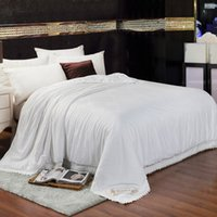 Wholesale Luxury high grade Natural Mulberry Silk Comforter Twin Queen King Full size Duvet Blanket Quilt Filler Brand