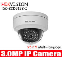 Wholesale Hikvision mm or mm lens MP IP Camera DS cd3132 i to replace DS CD2132F IS V5 mini Dome Network