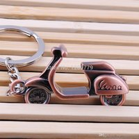 Wholesale New Motorcycle Scooter Keyring Key Chain Classic D Pendant Creative Gift IB021 W0 SYSR