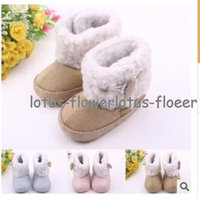 Wholesale 2015 baby winter snow baby cotton boots shoes baby boots