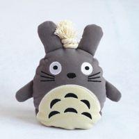 Wholesale Totoro key wallet pull handmade fabric diy key wallet