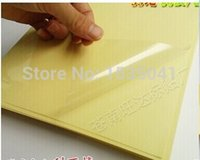 Wholesale 50 sheets Self adhesive A4 blank transparent clear pvc label sticker sheets for laser printer or used for lamination film