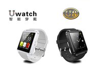 Wholesale Smart Watch U8 Bluetooth WristWatch for i Phone Note Note Android Phone Smartphones