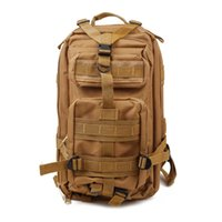 Wholesale 3P Outdoor Bags Tactical Outdoor Double Shoulder Backpack Bag Light Army Green D Oxford nylon fabric waterproof coating material L