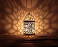 beautiful candle holders - New Romantic Elegance Classical Iron Beautiful Candle Holders Zakka Storm Lantern Wedding Home Decoration