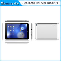 Wholesale Hot selling inch Tablet PC MTK6572 Dual core Android Kitkat G GB Dual SIM G Phablet GPS Wifi VS Mini Tablet