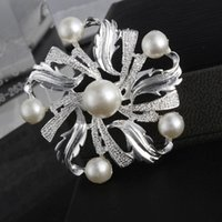 Wholesale 2015 Limited Hot Sale Knot Silver Brazilian Virgin Hair Clothing Accessories Jewelry Fashion Alloy Diamond Brooch Flower Small Mixed Batch