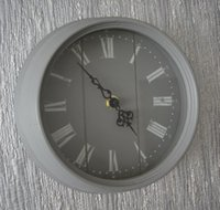 american domestic - Domestic modern American short circle fashion wool wall clock