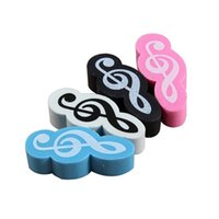 Cheap Else Music Stationery Best Mini Silent Music Note Eraser