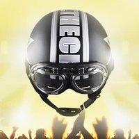 Wholesale Brand Harley helmet Motorcycle Accessories Off Road Motocross Motorcycle Leather Helmet capacete goggle visor cm