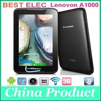 3g gps 7inch tablet pc - 7inch G Lenovo A1000 Phablet MTK8317 Dual Core Android G GB GPS Bluetooth G Phone Call WIFI Black Cheap Tablet PC