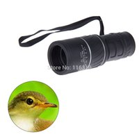 Cheap Wholesale-New Upgrade Rubber Armoring Monocular 16X52 Zoomable Telescopes With Lens Cover or Double focusing Sports Hunting Camping Optics