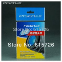 Wholesale PISEN set set sheets DSLR Camera Lens Tissue Cleaning Paper paper paper bags