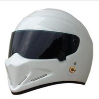 Wholesale Hot Sale New design Men s Outdoor Simpson StarWars Helmets ATV Motorcycle racing full face helmet Exported to Japan visor white