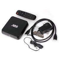 2g plugs - M8 Fully Loaded Android TV Box Quad Core Amlogic S802 G G GPU Mali450 Wifi XBMC TV Bluetooth HD G G With US UK EU AU Plug