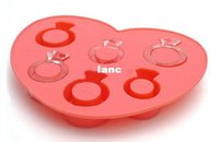 diamond ice cubes - Fashion Hot Ice Tray Diamond Love Ring Ice Cube Style Freeze Ice Mold Ice Maker Mould