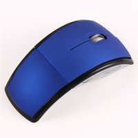 arc mouse blue - High Quality Wireless Foldable Folding Arc Optical Mouse ghz blue ASAF