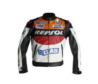 motorcycle leather jacket - Motorcycle Riding Clothing Jacket Motorbike Racing Suits Motorcycle REPSOL Racing PU Leather Jacket Duhan Motorcross Wear Windproof