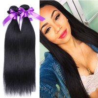 russian hair weave - 7A Russian virgin hair straight bundles unprocessed virgin russian hair extensions natural black remy human hair weave