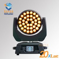 Wholesale Stage Light Moving Heads - 20X LOT High Quality 36pcs*10W 4in1 Zoom RGBA RGBW LED Moving Head Light,Stage Moving Head Light