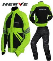 Wholesale Authentic Germany NERVE summer reflective motorcycle riding clothes Breathable drop resistance motorbike clothing mesh Blanca