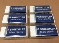 Wholesale 2pcs Staedtler Mars plastic pencils Eraser premium quality material eraser for painting Sketch drawing pencil phthalate free