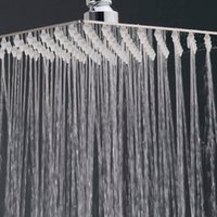 Wholesale Top Quality Inch Aluminum Bathroom Accessories Shower Bathroom Shower Heads Bathroom Products Silver JI0047 Kevinstyle