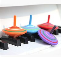 Wholesale Top Secret Mystery Magnetic Spinning Top cute wooden Spinning Toy Children s Gift