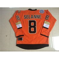 american apparel jersey - 2015 Orange Ice Hockey Jerseys Stadium Series Ducks Teemu Selanne Athletic Outdoor Apparel Top Quality American Hockey Jerseys for Men