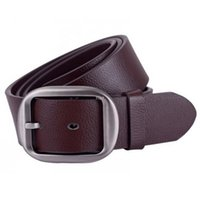 bargain cars - 2016 New Arrival Men Belt Brand Leather Belt Men High Fashion Belt Men Simple Casual Buckle Belt Men Bargain Price